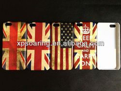 Mobile phone Flag case cover for iphone 5C