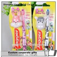 Custom Fancy Cartoon Kids Toothbrush With Head