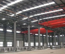 Prefab modular steel frame structure warehouse building house