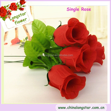 Cheap Hot Selling Single Rose For Valentine's Day Gifts Or Mother's Day