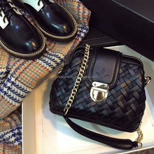 New arrival exclusive knitting ainty women bag fashion 2015