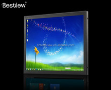 Low-power Fanless Design 15 inch industrial touch panel all in one PC