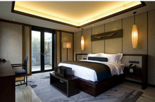 Luxury Solid Wood Four Seasons Hotel Furniture Of Bedroom and Living Room