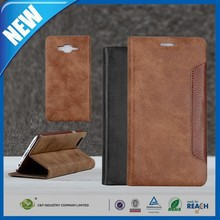 C&T Premium Handmade Stand PU Leather Wallet Case For Samsung Galaxy J7