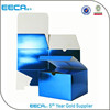 6*6*4 Blue Metallic Foil custom paper gift box/fancy gift boxes/christmas gift boxes