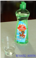 2015 High quality lemon scent chemical formula dishwashing liquid