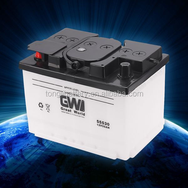 New design rechargeable storage battery storage battery 12v 55ah