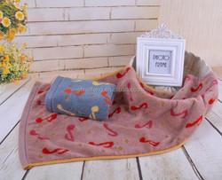 Wholesale good feelings cotton terry towel organic towel
