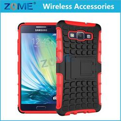 diy 2d phone TPU+PC Hybrid Combo Case /cover with Stand FOR SAMSUNG A5/A5009/A5000 from china