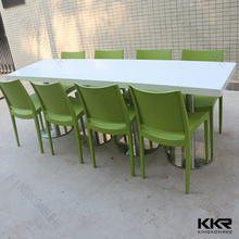 custom size 8 seater dining table