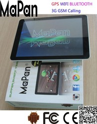 cheapest 9.7 inch MTK8382 quad core cheap tablet pc with 3G dual sim card slot tablet phone