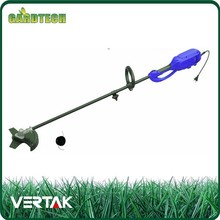 Electronic portable grass trimmer and brush cutter