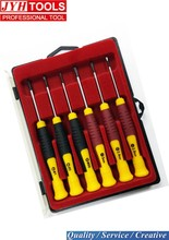 6pcs precision mini electric eyeglass repair screwdriver set