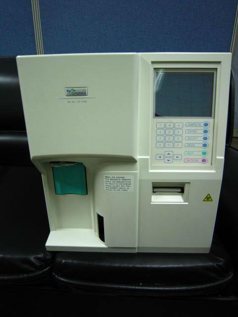 Sysmex KX-21N analizador hematológico