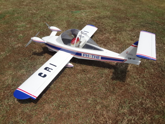 "airplane Cri-Cri 70"" M092 Electrical rc plane"