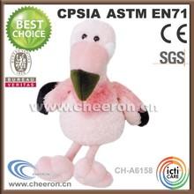 Pink birds stuffed soft gifts, plush stuffed soft toy bird