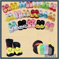 2015 hot sale baby cartoon tube sock very cheap cotton seamless sock cute baby non slip sock