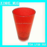 2015 DIRECT FACTORY HOTSALE PLASTIC DRINKING WATER BOTTLE 20OZ DOUBLE COLORS MUG WITHOUT LID AND STRAW