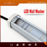 PanaTorch SPI Control Mode Outdoor Linear LED Wall Washer IP65 Waterproof PS-JX118 PC tube For city landscaping project