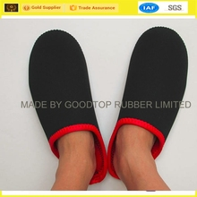 Neoprene Travel Slipper,Folding Porable Indoor Shoes,Hotel Airline Airplane Slippers