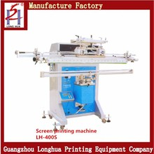 Higher Quality Round Tube Manual Cylindrical Screen Printing Machine For Fishing Rods Golf Cue