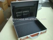 Aluminum briefcase,hard metal suitcase