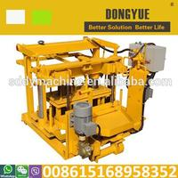 Dongyue egg laying QT40-3A vibrating machine for block moulding