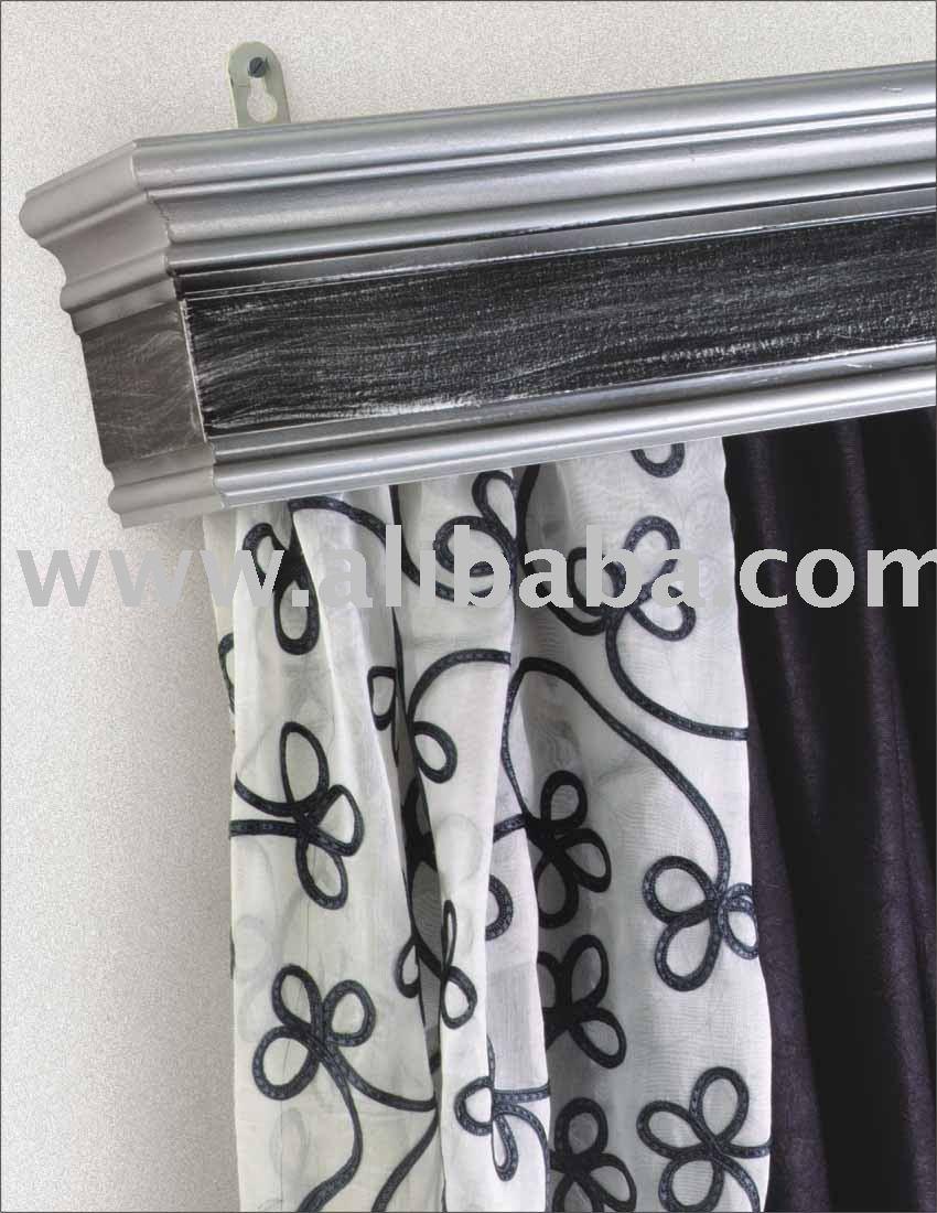 Curtain pelmets buy wooden curtain pelmet product on for Wooden curtain pelmets