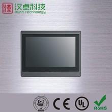 Multiple language displaying HMI touch screen