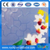 4mm patterned glass with big production ability