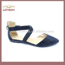 China, venta al por mayor 2015, Zapatos planos de señoras, nuevo producto