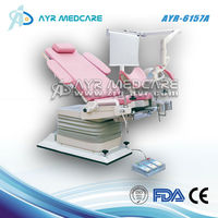 AYR-6157A Multifunction steel baby birth gyn bed Multifunction labor and delivery LDR bed for maternity