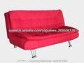 parte inferior marco del metal de tela muebles sofá cama