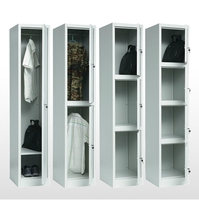 cheap knock down structure steel cabinet