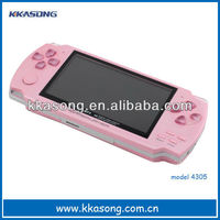 4.3 inch cheap handheld super thin mp5 video game player