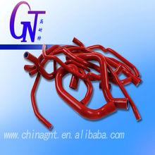 Varios formas de silicona elástica tubo de goma