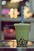 Paris Baguette disposable cold bubble milk tea cup, clear plastic milk blend cup, take away cold beverage cup