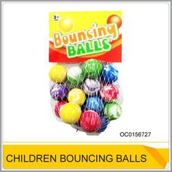 Hot sale rubber high bouncing ball for kids OC0156727