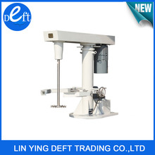 Factory Direct Sale High Speed Hydraulic Paint Mixer with Tank Clamp ,Paint Disperser Mixing Machine with Arm