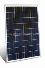Custom design high effiency solar panel 90w poly solar power system