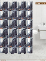 Printing shower curtain window curtain design