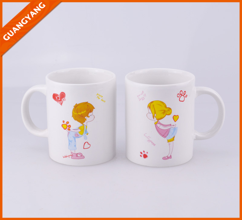 Very Popular Cheap 11oz White Porcelain Mugs Wholesale