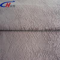 new polyester kintting fabrics burnout design for sofa /burnout sofa fabric