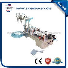 High quality Semi-Automatic Double Heads Water Filling Machine,Liquid Filler 50-500ml