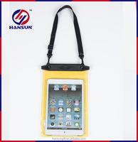 Fancy custom mobile phone pvc waterproof bag with ABS header