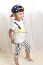 2014 hot cotton brand clothing original design cotton top 10 pants fashion baby cotton clothes set for summer