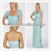 ME-164 Light blue mother of the bride dresses with jacket