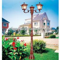 electric garden lights/garden lighting pole light/exterior garden light
