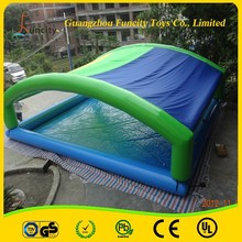 newly stlye and competitive price inflatable cover pool/swimming pool with covers