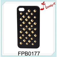 China low price wholesale phone shell fashion punk design studs cell phone covers, design mobile phone covers
